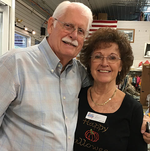 Bev and Bill Vanden Broek